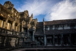 Inside of the Angkor Wat