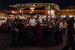Sweets stall at Djemaa el-Fnaa