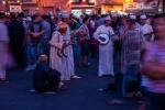 Traditional music on show at Djemaa el-Fnaa