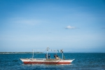 Traditional philippino fishing boat