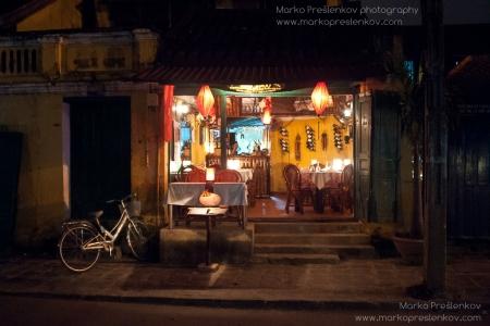 Lantern lit veranda