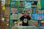 Happy Mauritanian shop keeper