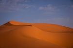 Beautiful sand curve