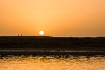 Sunset over Niger river