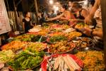 Lao foodstalls