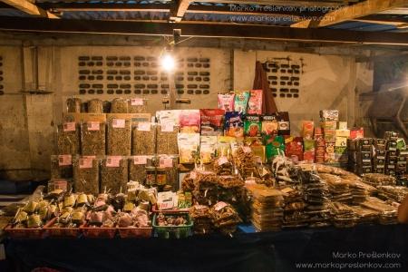 Mixed food stall