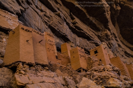 Pre-Dogon houses