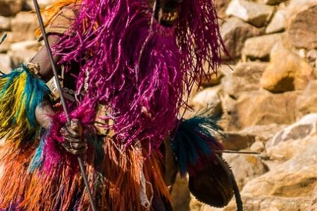 Traditional Dogon mask