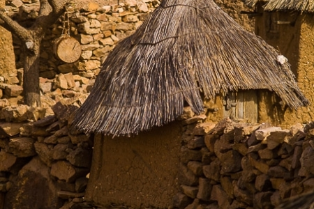 Dogon house in Anakanda village