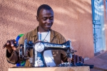 Sewing Prince of Sierra Leone