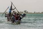 Pirogue race, Ségou, Mali