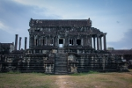 Empty Angkor Wat building