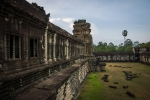 Long line of windows at Angkor Wat