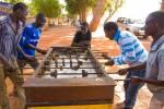 Bustling Mopti, Mali