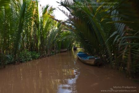 Mekong boat alley