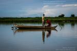 Fishing on Tonle Sap lake, Cambodia