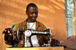 Sewing Prince of Sierra Leone