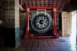 Big gong of Wat Xieng Thong