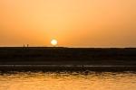 Sunset over Niger river