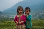 Minority kids of Sapa, Vietnam