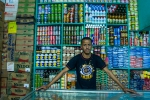 Happy Mauritanian shop keeper
