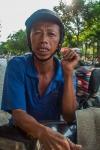 Saigon mototaxi driver